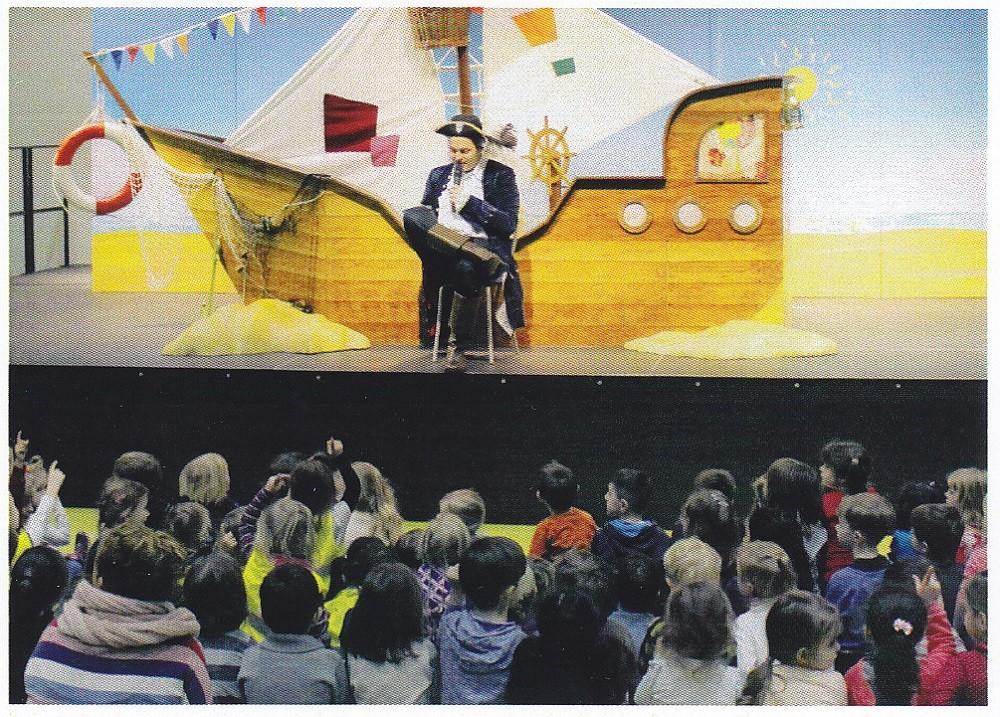 """Jolinchens Seereise - AOK-Puppentheater zum Gesundheitsprogramm """"Jolinchens Kids"""""""